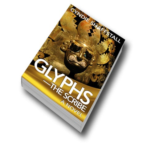Glyphs: The Scribe by Cyndie Shaffstall cover image